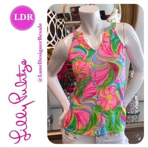 Lilly Pulitzer Sleeveless Floral Top
